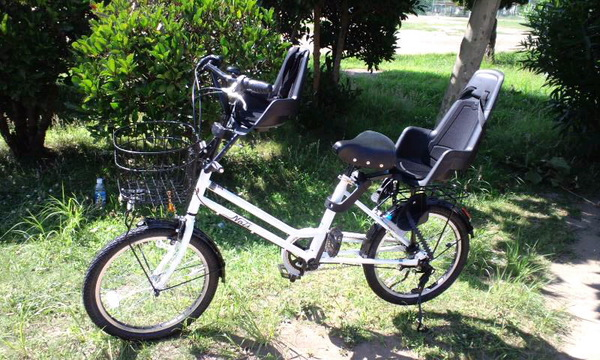 子供乗せ自転車: ウフフなまい ...